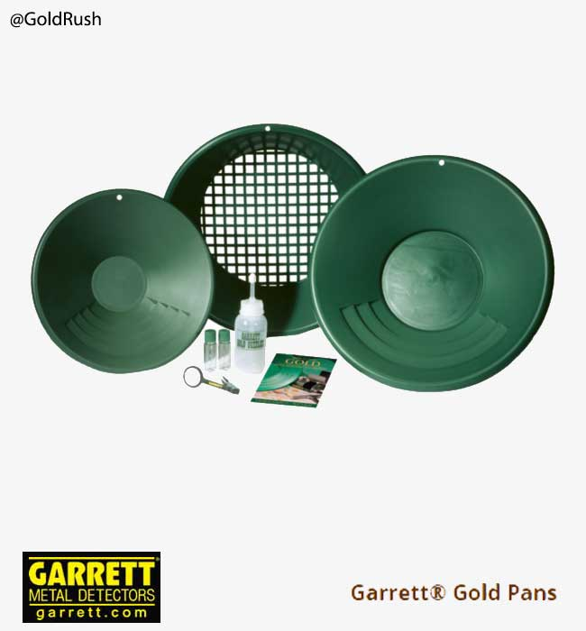 Garrett-Complete-Gold Pan-Kit